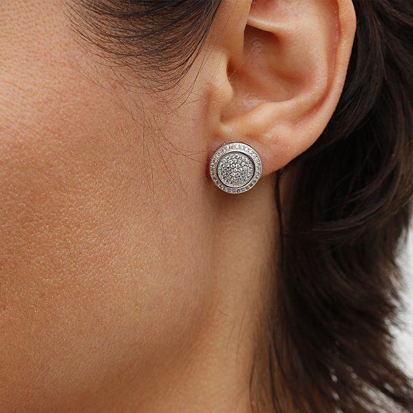 Cercei argint 925, Corelle, Cod TRSE