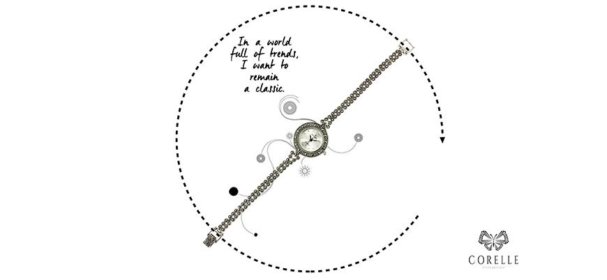 Cerasuri dama argint cu marcasite- Corelle- Blog