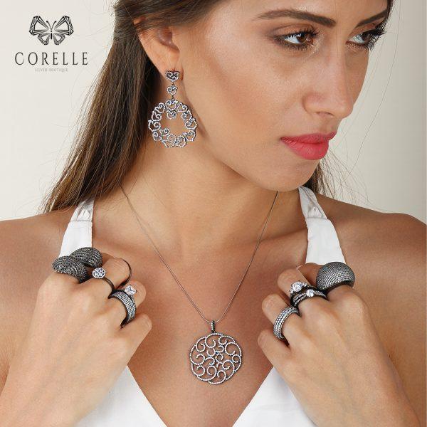 Pandantive argint 925, Corelle, Cod TRSP032
