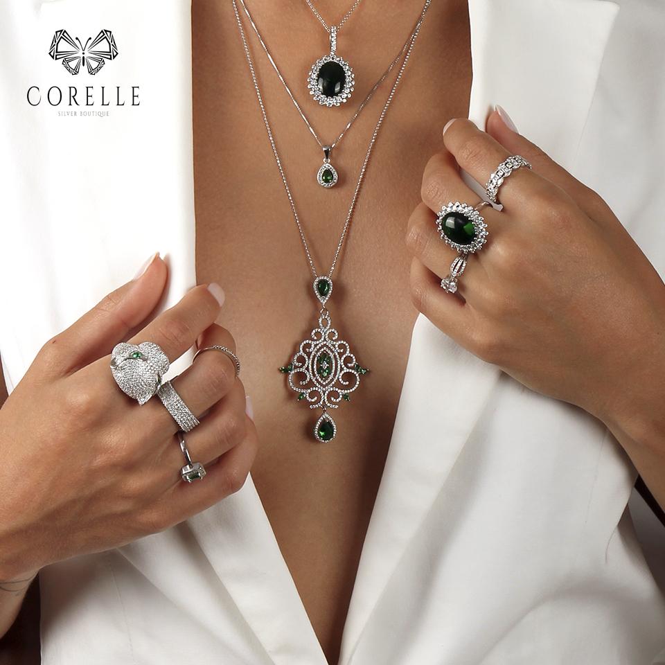 Pandantiv argint 925, Corelle, Cod TRSP006 | TRSP028 | TRSP050