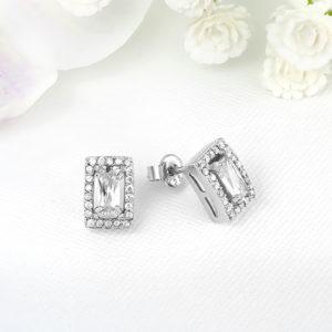 Cercei argint cu pietre - ICE0037
