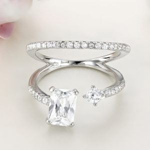 Inel argint cu pietre - ICR0053