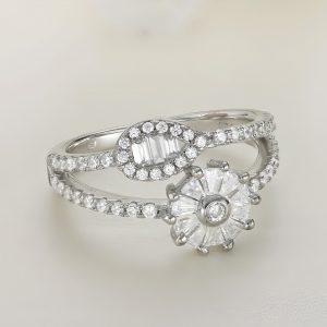 Inel argint cu pietre - ICR0110