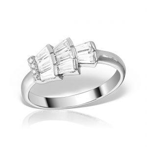 Inel argint cu pietre - MCR0030