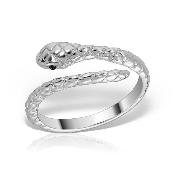 Inel argint reglabil Sarpe - MCR0076