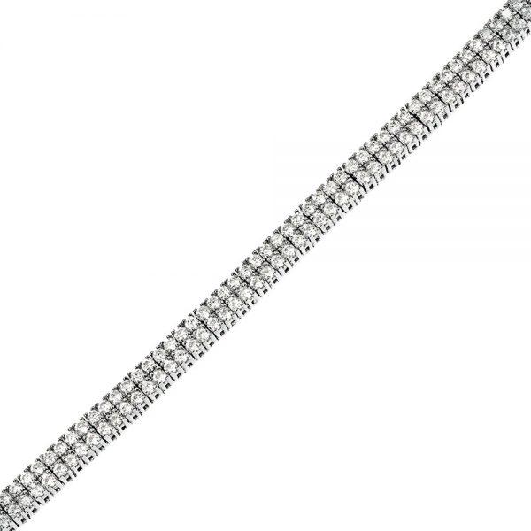 bratara tenis din argint 925 cod TRSB022