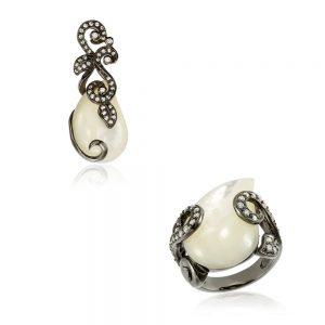 Set bijuterii argint cod trss045, Corelle